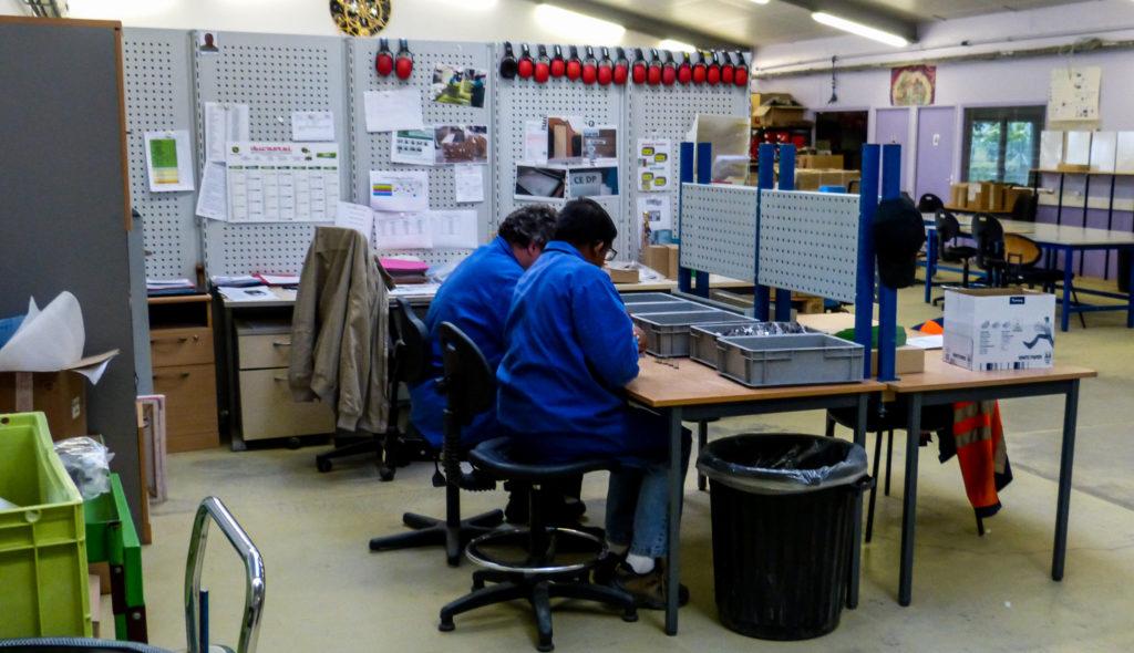 Atelier de l'ESAT du Champ Fleuri